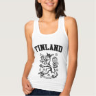 Finland Coat of Arms Tank Top