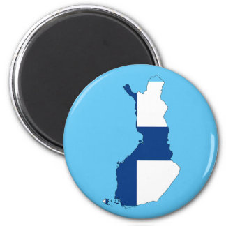 Finland country flag magnet