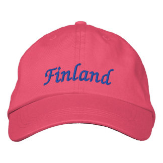 Finland Custom Hat Embroidered Hat