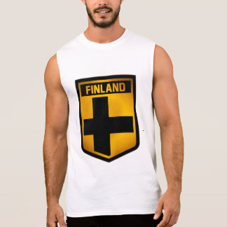 Finland Emblem Sleeveless Shirt