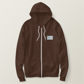 Finland Embroidered Hoodie