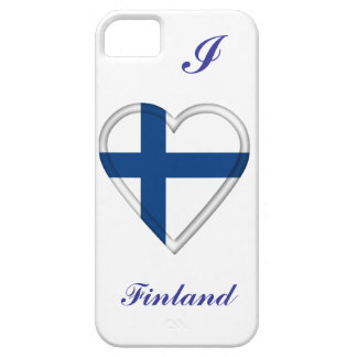 Finland Finnish flag Case For The iPhone 5