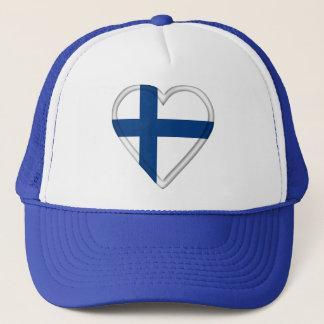 Finland Finnish flag Trucker Hat
