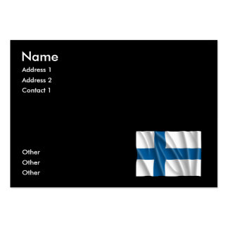 FINLAND FLAG BUSINESS CARDS