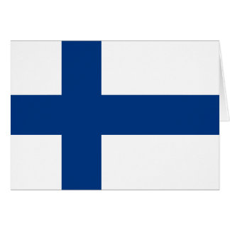 Finland Flag Greeting Card