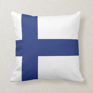 Finland Flag Cushion