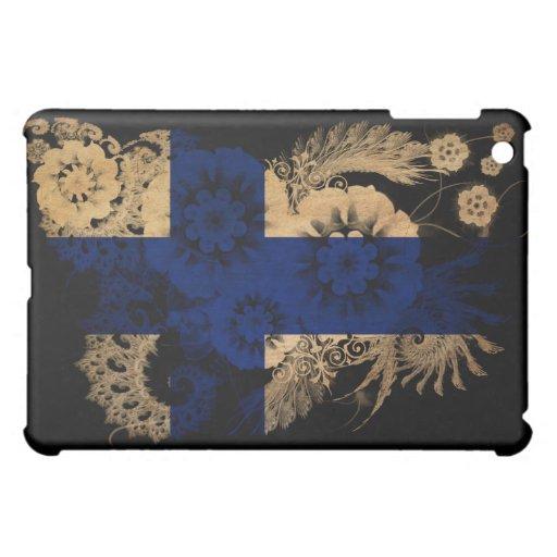 Finland Flag Cover For The iPad Mini