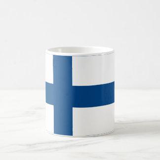 Finland Flag Large White Mug