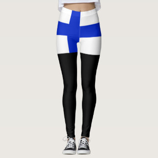 Finland flag leggings