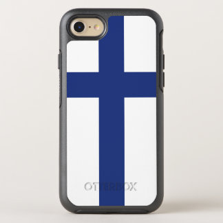 Finland Flag OtterBox Symmetry iPhone 7 Case