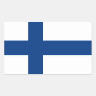 Finland Flag Rectangular Sticker