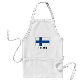 Finland Flag Standard Apron