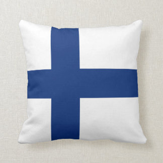 Finland Flag x Flag Pillow
