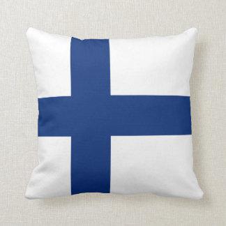 Finland Flag x Flag Pillow