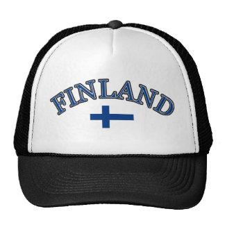 Finland football design cap