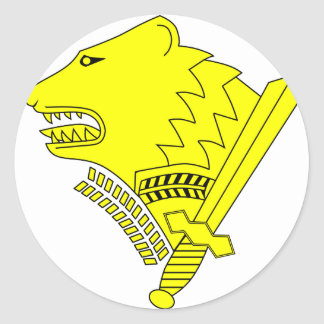 Finland Frontier Guard Classic Round Sticker