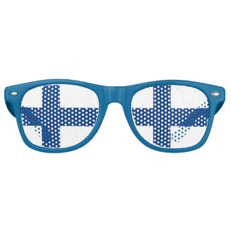 Finland Fun Party Glasses