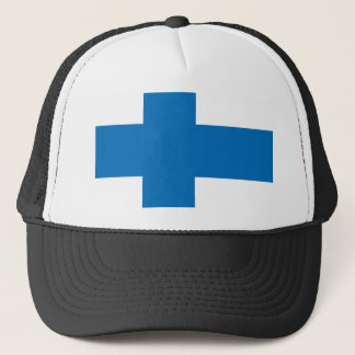 Finland High quality Flag Trucker Hat