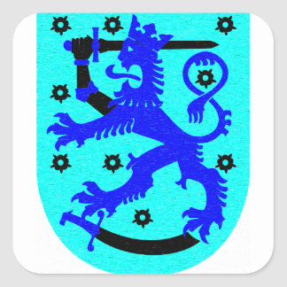 Finland lion & sword coat of arms stickers