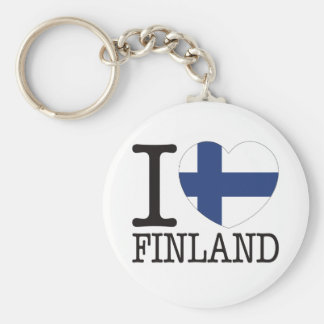Finland Love v2 Key Ring