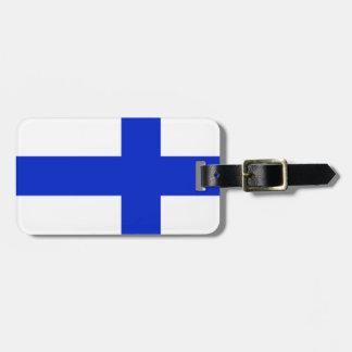 Finland Luggage Tag