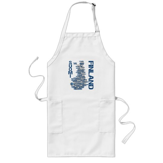 FINLAND MAP apron - choose style, color