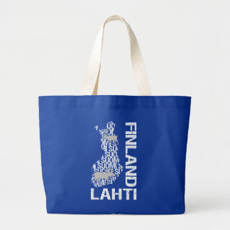 FINLAND MAP bag - Lahti - choose style, color