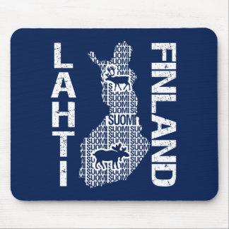 FINLAND MAP mousepad - Lahti