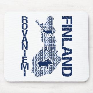 FINLAND MAP mousepad - Rovaniemi