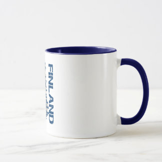 FINLAND MAP mug - choose style & color