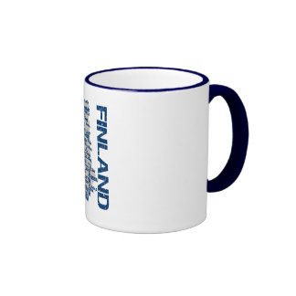 FINLAND MAP mug - choose style color