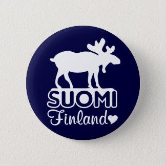 Finland Moose button