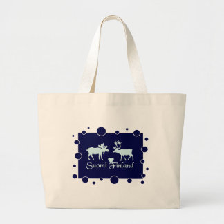 Finland Moose & Reindeer bag