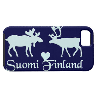 Finland Moose & Reindeer iPhone 5 Case-Mate