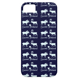 Finland Moose & Reindeer iPhone case-mate