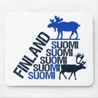 Finland Moose & Reindeer mousepad