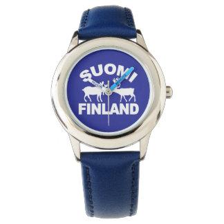 Finland Moose & Reindeer watches