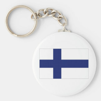 Finland National Flag Key Ring