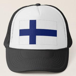 Finland National Flag Trucker Hat