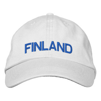 Finland* Personalized Adjustable Hat Embroidered Hat