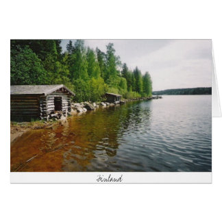 Finland -postacrd card