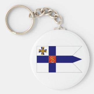 Finland President Flag Keychain