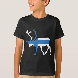 Finland Reindeer Kids' T-shirt