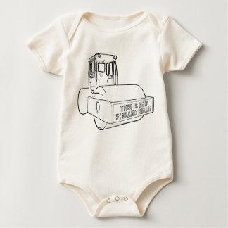 Finland Rolls Infant Organic Baby Bodysuit