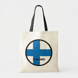 Finland Roundel quality Flag Tote Bag