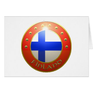 Finland Shield Card