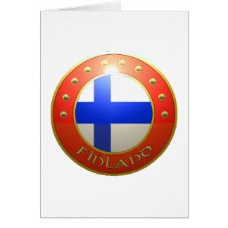 Finland Shield Card