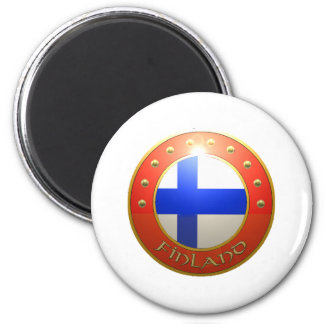 Finland Shield Magnet