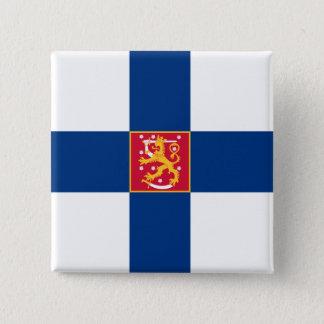 finland state 15 cm square badge