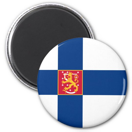 Finland State Flag Magnet